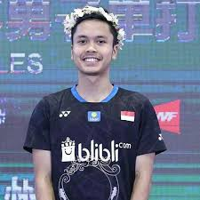 Anthony Sinisuka Ginting's Biography